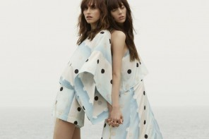 Langley Fox and Matilda Dods Star in The Dance of Fibonacci for Sass & Bide SS15
