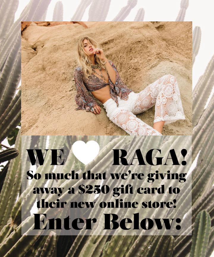 RAGA-Giveaway