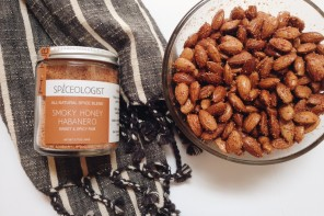 Smoky Honey Habanero Almonds